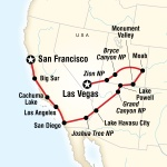 SF State Student Travel Canyon Country & Coasts – Las Vegas to San Francisco for San Francisco State University Students in San Francisco, CA