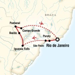 Centenary Student Travel Wonders of Brazil for Centenary College Students in Hackettstown, NJ