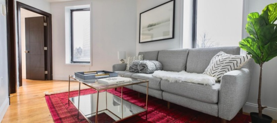New York Housing Private Bedroom in Sleek Upper West Side Apartment With Gorgeous City Views for New York Students in New York, NY