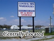 UWF Storage Central Mini Warehouses for University of West Florida Students in Pensacola, FL